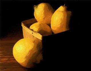 lemons in a basket by jossif