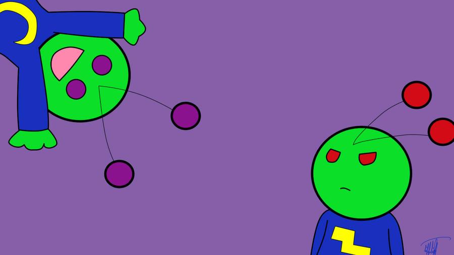Little Alien Guys Wallpaper By LittleAlienGirl On DeviantArt