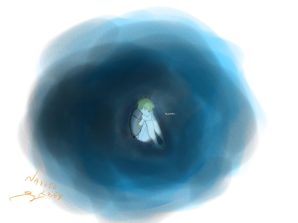 Naru Child Alone.. by ShadowZyzy