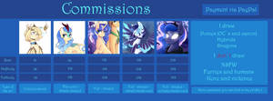 COMMISSIONS INFO - open