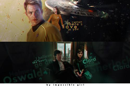 Kirk/Clara vs Clara/Sherlock by janeausten2011