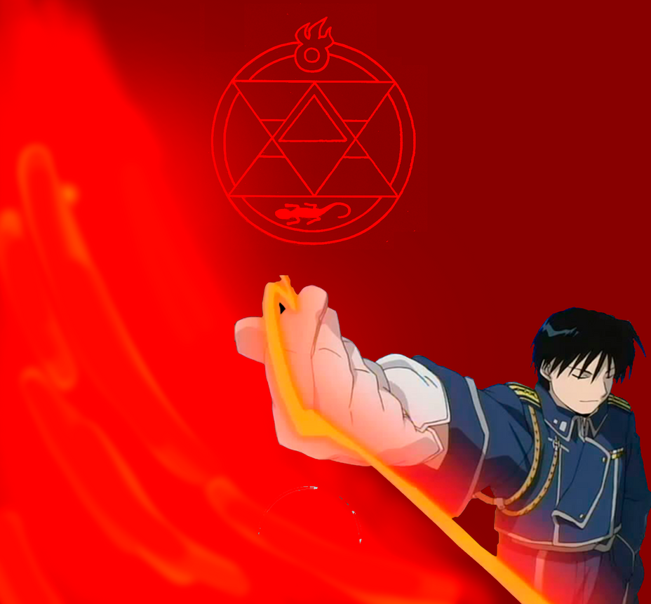Roy Mustang by fenixcast