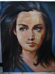 Oil Paint Girl