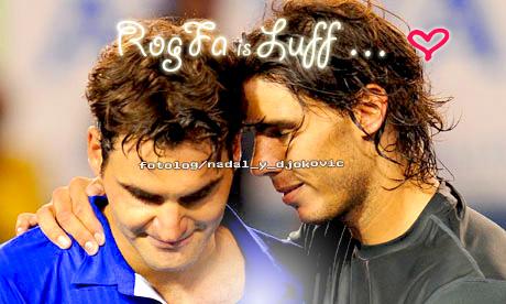 rafael nadal y Roger Federer by gAvrieLa-BremOnt