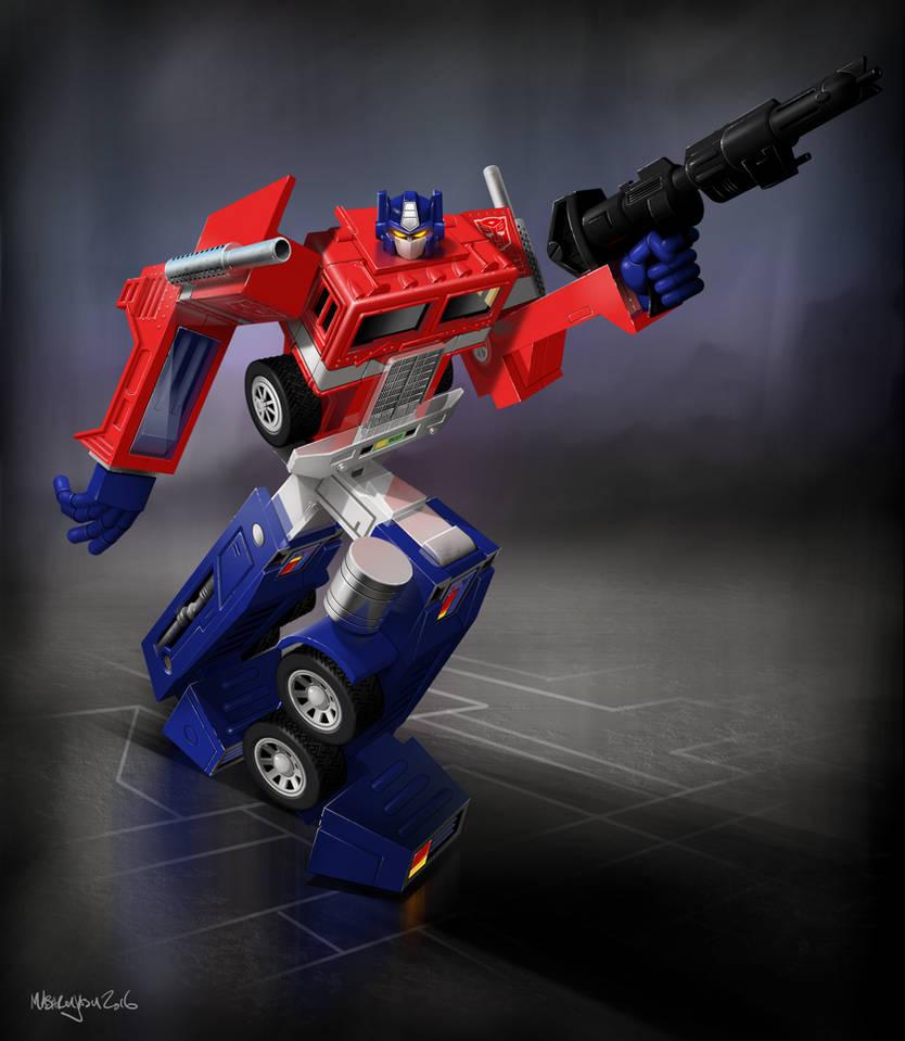 Autobot Commander Optimus Prime 1984