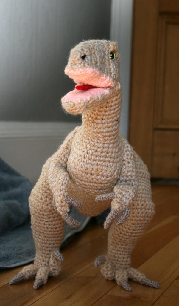 Jurassic World Amigurumi : Chicken the Velociraptor by Soggy-Wolfie on deviantART