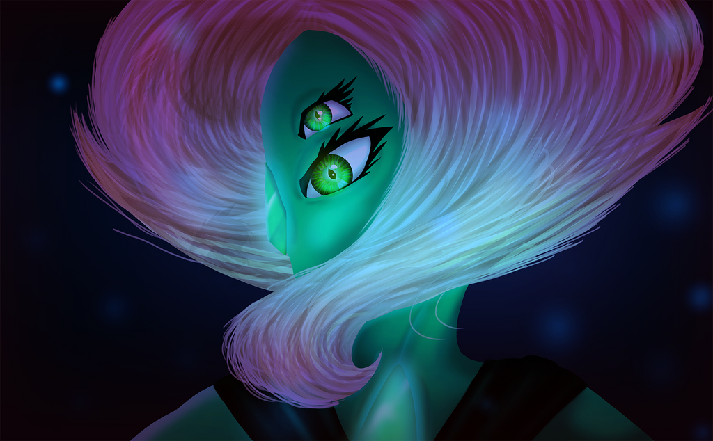 [[SPEEDPAINT COMING SOON]] Been a long time since I did anything Steven Universe in a long time. This is a digital painting of a fusion between Lapis and Jasper, Malachite. I think my people came a...