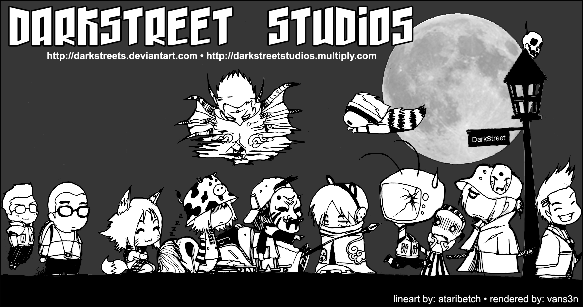 DarkStreet Studios Crew by darkstreetstudios