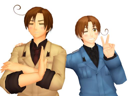 Italy Bros by Akiraka-chan
