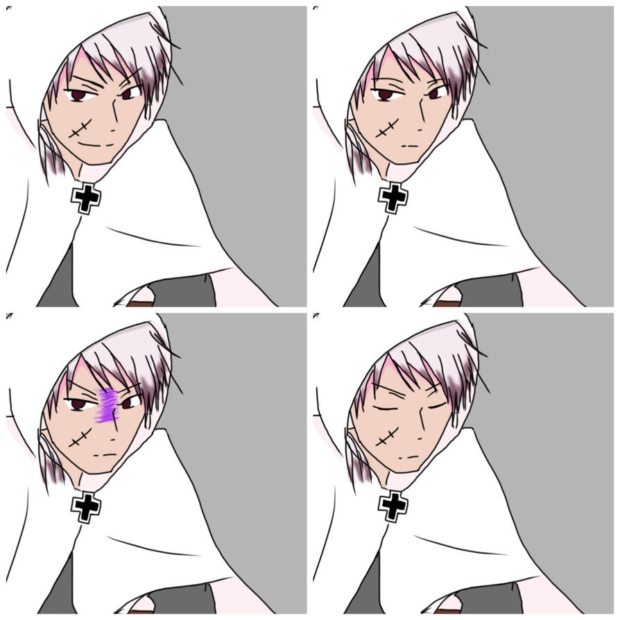 2p!Prussia Face Graphics by Akiraka-chan
