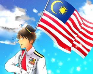 Happy 57th Independence Day! Selamat Hari Merdeka by Akiraka-chan
