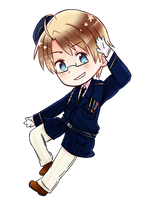 Hetalia World Stars: America by Akiraka-chan