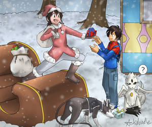 MERRY CHRISTMAS, EVERYBODY!! - Contest Entry by Ashidoodle