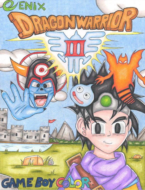 Dragon Warrior Iii Gbc By Dragonquesthero On Deviantart