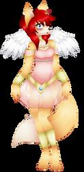 Ike/Marisa Vanguard: Valkyrie Princess by DragonQuestHero