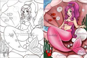 Coloring Book-commission by Janjanita