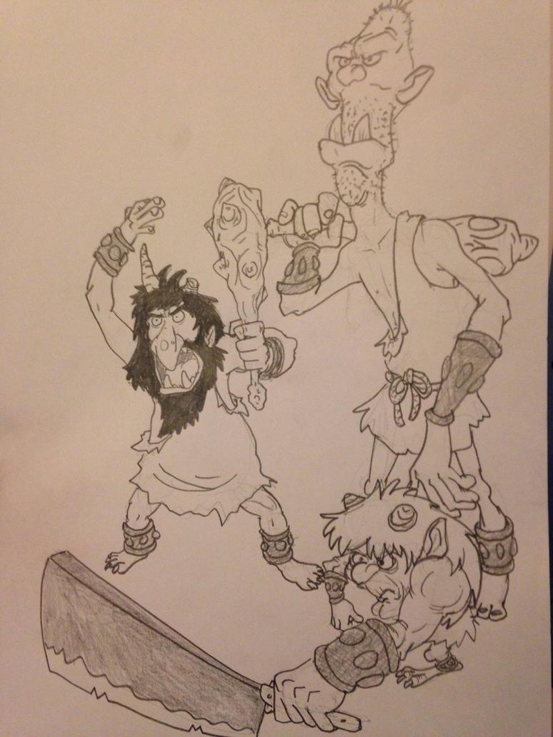 Ogres, yall by elementw