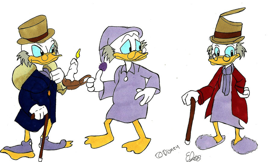 Scrooge McDuck- A Christmas Carol by Project-GAME on DeviantArt