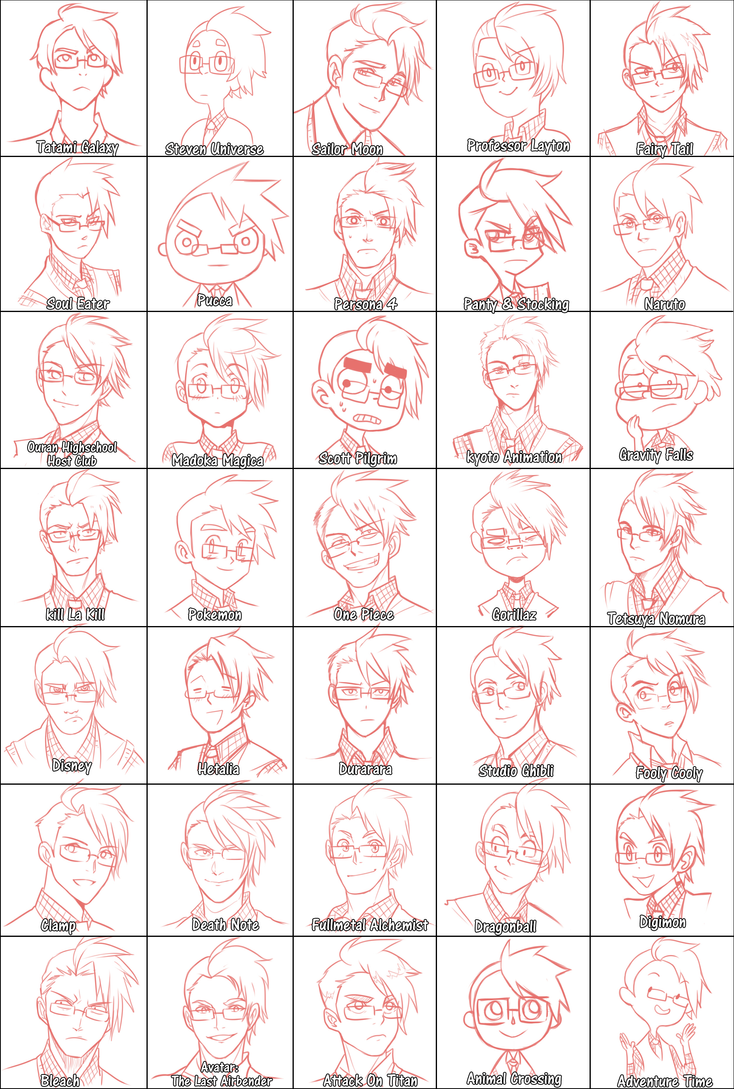 Draw Yourself Style Meme by MooseFroos