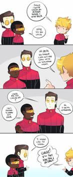 Cadets AU: Social