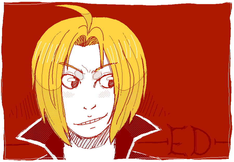Edward Elric prize by commandobunny