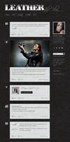 Leather Website .PSD by YesIMaDesigner