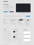 Minimal Website Template .PSD
