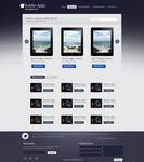 Appstore Website Template .PSD by YesIMaDesigner