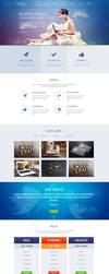 Heaven Onepage Creative Mockup by YesIMaDesigner