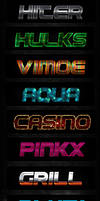 Text Layer Effects .PSD