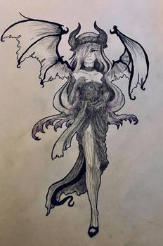 Black Drakian sketch