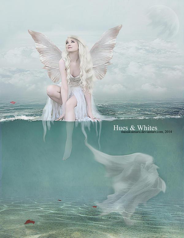 Hues and Whites by MasukiaMaru