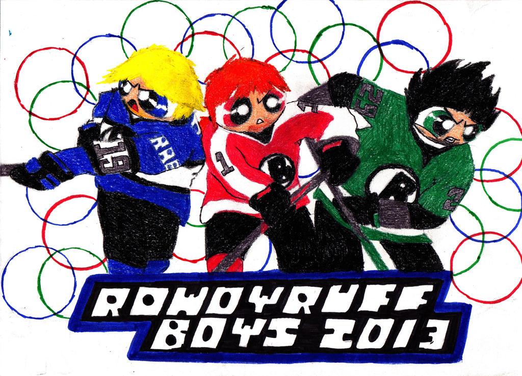 Rowdyruff Hockey by transformers3roxCB