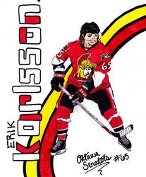 Erik Karlsson #65 by transformers3roxCB