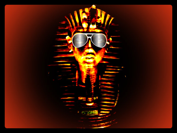 Pharaoh With Shades By Lord Imhotep