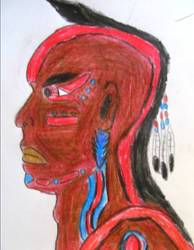 Native American Profile.