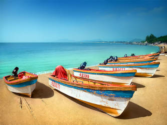 hainan boats by nask0
