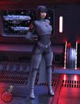 Commander Alessa Wren the Bloodhound
