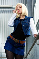 Android 18 - Don't mess with me by Lie-chee