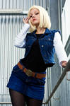 Android 18 - Don't mess with me