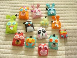 Mini zoo by Skit-tles