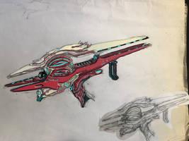Sentient 'Vaculyst' Rocket Launcher by HaruAxeman