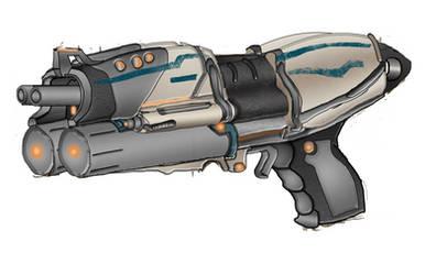 Grineer 'Zezok' Duplex-Burst Pistol