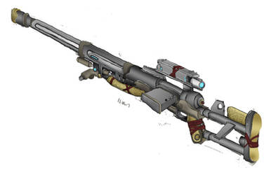 Homemade 'Zagro' Sniper Rifle
