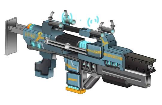 Corpus 'Arca Pulsar' Rifle