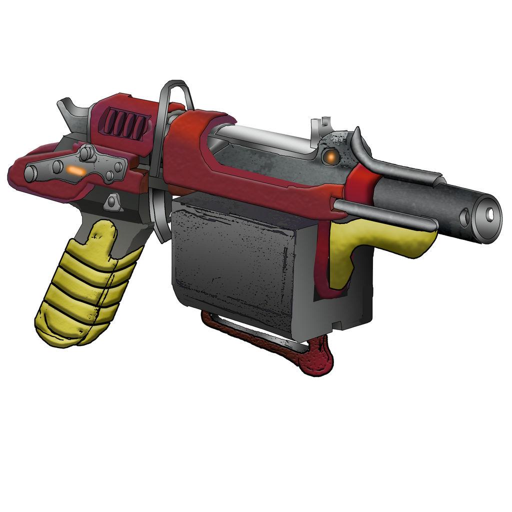 grineer__kamvor__micromissile_pistol_by_