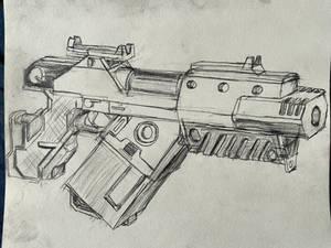 Maddock Industries 'Pinhammer-V10' Pistol