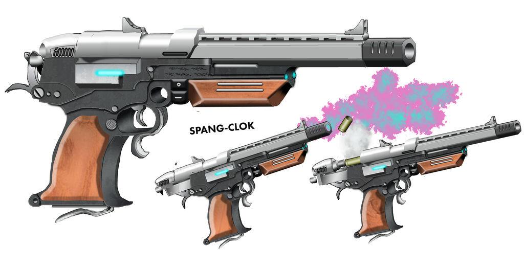 tenno__vulkan__incendiary_pistol_by_fluf