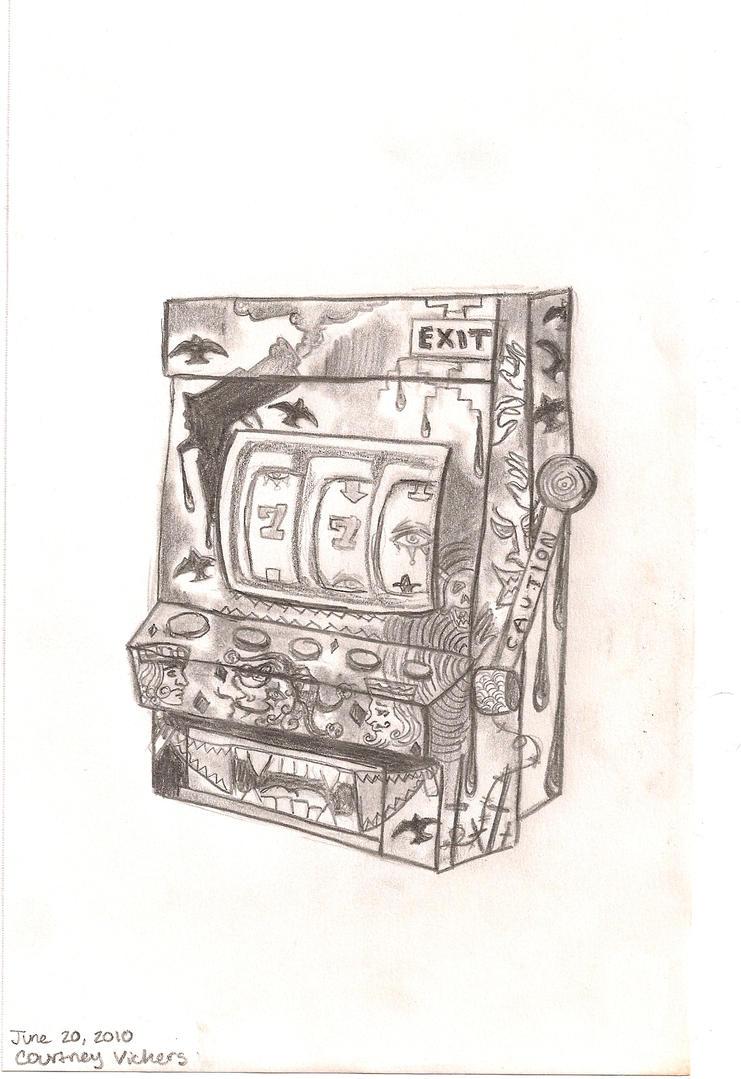 slot machine by xblairx on deviantart. Black Bedroom Furniture Sets. Home Design Ideas
