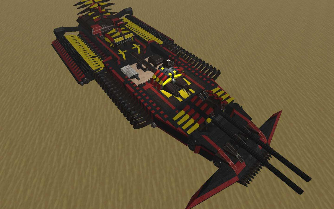 Dune crawler by Mrvecz